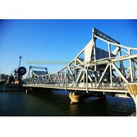 Cheap Low Cost Heavy Structural Steel Bridge Fabrication Fast Assembling for sale