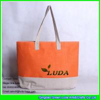 Quality LUDA wholesale women summer paper straw shopping bag wholesale