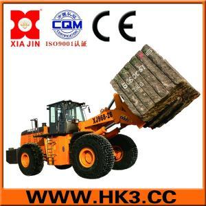 block handler arrangement forklift loader lift equipment