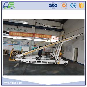 Cheap Diesel Engine Conveyor Belt Vehicle , Aircraft Belt Loaders GB - 3 / GB - 4 Standard for sale