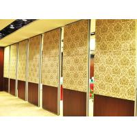 Cheap Portable Acoustic Conference Room Partition Walls 2000 / 13000 mm Height wholesale