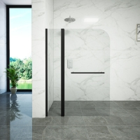 Buy cheap Free Standing Tempered Glass Bathtub Shower Screen from wholesalers