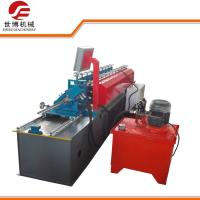 Cheap U Purlin Drywall Stud Roll Forming Machine Fully Automatic Control With No Stop Cutting Way for sale