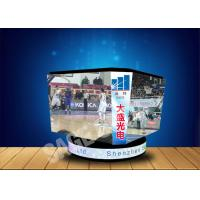 Cheap Hung LED Cube Display P4 4mm High Refresh Rate For Stadium Center for sale