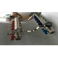 Heatmiser Underfloor Heating Manifold For Pex  Water Manifolds Without Pump Sliver Color