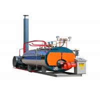 Cheap Automatic Gas Fired Industrial Steam Boilers WNS 1 - 20 Ton Horizontal High Pressure For Chemical Plant for sale
