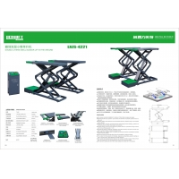 Cheap 380/220V 4.2T Double Layers 25Mpa Car Lift Machine for sale