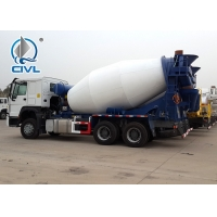 China HOWO A7 Concrete Mixer Trucks Diesel 8cbm 6x4 EuroII With Italy Motor on sale