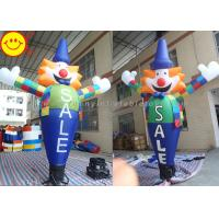 Cheap Funny Inflatable Air Dancer Clown Sky Dancer Inclduing Blower For Event for sale