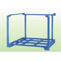 China Heavy duty galvanized steel warehouse stacking big bag pallet rack tyre stocking rack stackable storage cages on sale