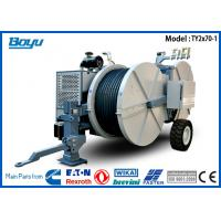 Buy cheap 2 x 70KN Hydraulic Line Tensioner Cummins , Wheel Diameter 1700mm from wholesalers