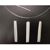 Cheap White Stock Flexible Disposable Nose Clip  Thickness 1mm Width 3mm 4mm 5mm for sale