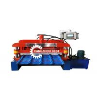 China PPGI GI Roof Tile Roll Forming Machine on sale