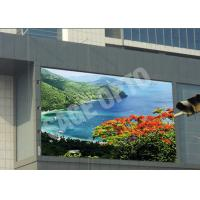 Cheap Huge Advertisement P6 Outdoor Advertising LED Display Water Resistance 576mm x 576mm for sale