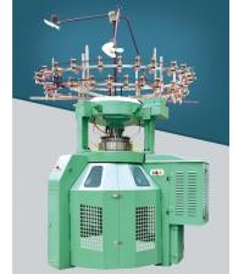 Low Noise Body Size Circular Knitting Machine High Durability Gray Iron Alloy Frame