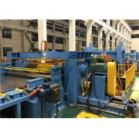 Cheap High Speed Cut To Length Line , Hydraulic Steel Coil Slitting Machine for sale