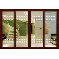 Cheap 1.4mm profile thickness white, red wood aluminum sliding glass doors for residential for sale