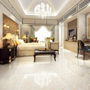 Cheap Large White Marble Look Porcelain Tile / Marble Porcelain Floor Tile 800x800 for sale