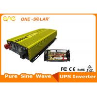 Cheap Vehicle / Car Power Inverter 3000W 24V - 220V High Frequency Pure Sine Wave Inverter wholesale