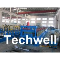 Cheap Steel Structure Floor Deck Roll Forming Machine for Roof Deck, Steel Tile TW-FD1250 for sale