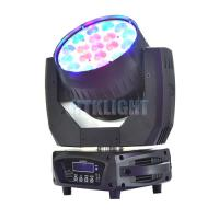 Cheap 240V LED Beam Pro Moving Head 19 Pcs LED RGBW For Stage , Music Concert for sale