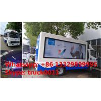 2017s best price high quality Mobile LED advertising truck for VIVO Mobile Phone for sale, FAW P6 LED billboard truck