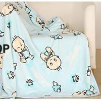Cheap Summer Double Towel Polyester Baby Blanket Superfine Fiber For Air Conditioning Room for sale