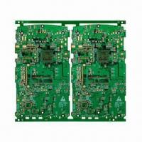 Cheap Multilayer PCB with 6 Layers and Gold Plating Surface Treatment, Applicable in MP4 for sale