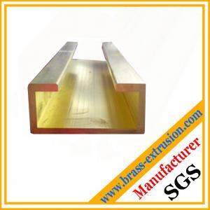 China golden color brass extrusions garage door hardware on sale