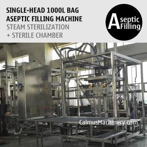 Cheap 1000 Litre Bag Aseptic Filling Machine 1000L IBC Liner Bag Aseptic Filler for sale