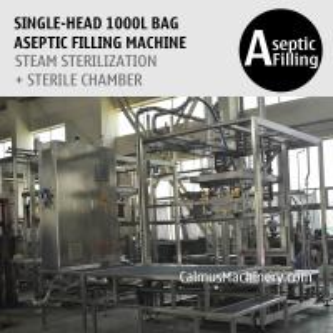 Cheap Single-Head 1000 Litre Tote Filling Machine 1000L IBC Liner Bag Aseptic Filler for sale