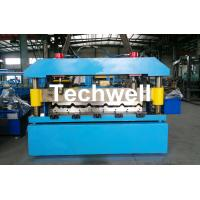 Cheap Automatical Steel Roof Wall Panel Roll Forming Machine With 13 - 20 Forming Station for sale