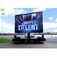 China P5 full color Mobile Truck LED Display Advertising , Car LED Screen 5 years Warranty on sale