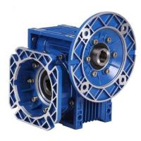 China Single Stage RV Reducer Worm Gearbox with blue or cuotomized coulor in cast iron on sale