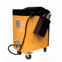 Cheap Overseas service provided handheld 120w fiber pulsed laser cleaning machine for rust removal for sale