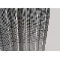 Buy cheap Mill Finish Perforated Aluminum Sheet With Perforated Holes / Wave Shapes from wholesalers