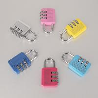 Cheap Colorful Resettable Combination Padlock 3 Digit Password Suicase Padlock for sale