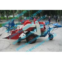 Cheap mini paddy combine harvester with Tyre wheel for sale