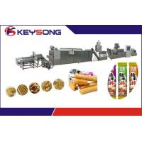 Cheap Core Filling Snacks Food Making Machine Double Screw Extrusion 304 Stainless Steel for sale