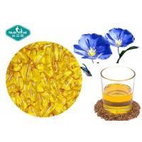 Cheap Essential Omega 3 Fish Oil Capsules Flaxseed Oil Capsules Supports Cardiovascular System for sale