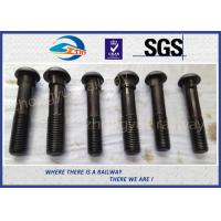 Quality Grade 8.8 Bridge / Railway Bolt Fish Bolts For Fasten Rail Joints wholesale