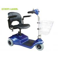 Cheap Lightweight 24V Electric 3 Wheel Mobility Scooter 8Km / H For Disabled for sale