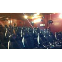 Cheap Comfortable Patent Chairs 7D Movie Theater Indoor Customized Logo for sale