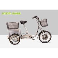 Cheap Pedal Assisted Electric Mobility Scooter Tricycle Cargo Trike 48V 350W for sale
