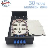 China Metal Optical Fiber Distribution Box / Wall Mount Enclosure Easy Installations on sale