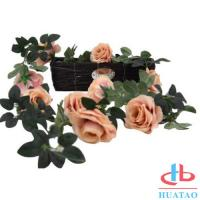 Cheap Decoration Handmade Silk Flowers Artificial Rose Wedding Real Touch for sale