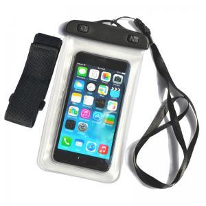 Mobile phone pvc waterproof bag,waterproof mobile bag, transparent PVC waterproof mobile bag