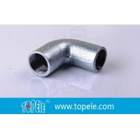 Quality BS4568 Conduit Fittings 25mm  Malleable Iron Solid Elbow , 90 Degree Pipe Bent wholesale