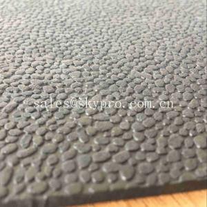 Cheap Heavy Duty Orange Peel Rubber Mats Leather Pattern Rubber Floor Matting for sale