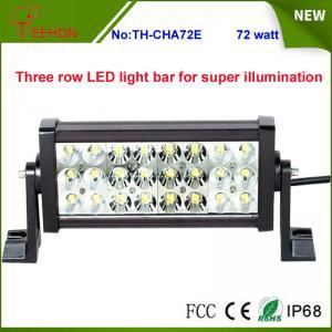 Cheap Super bright IP67 waterproof Three row LED light bar for ATV,SUV,UTV,truck,fork lift,train for sale
